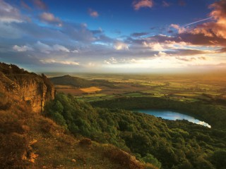 Sutton Bank in Yorkshire