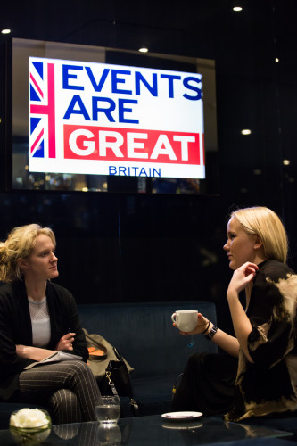 Events are GREAT Britain launch event at Stamford Bridge, 14th April 2016