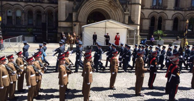 Manchester Somme 100 commemorations