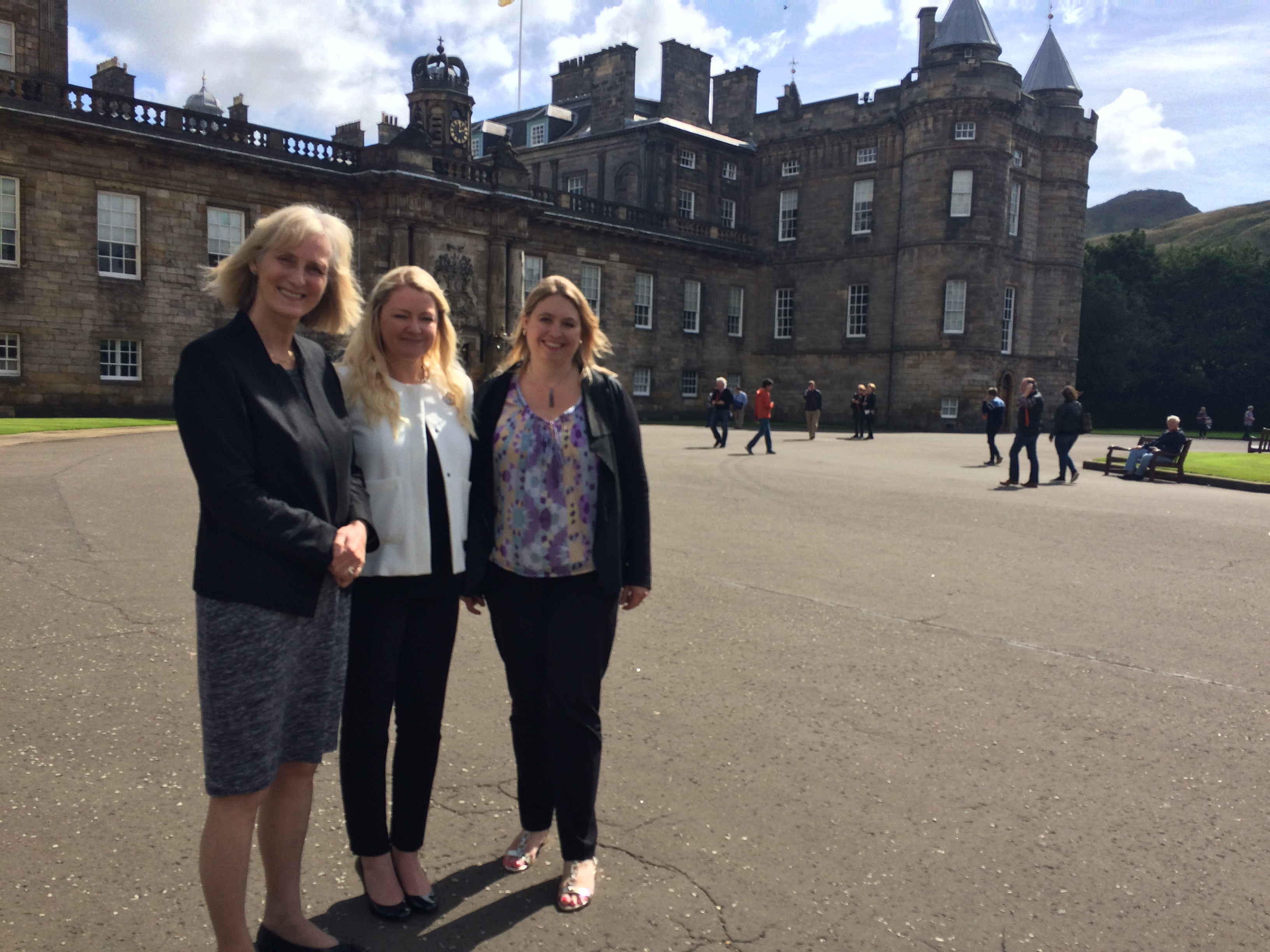 Culture Secretary Karen Bradley at Holyrood Palace