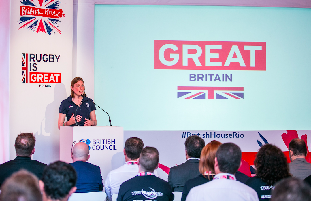 Speaking at the British House Rugby Sevens conference