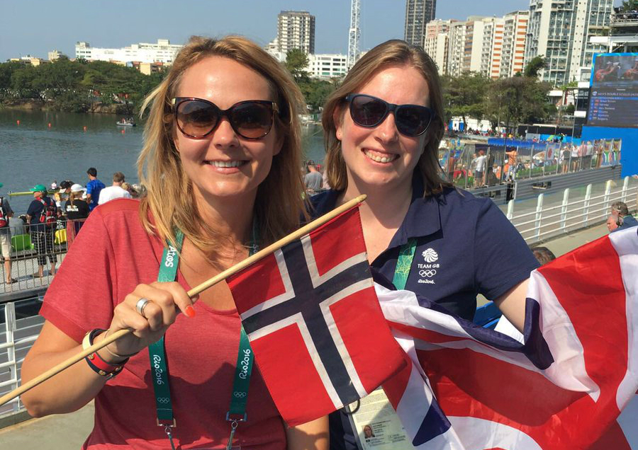 Tracey Crouch and Norwegian sports minister
