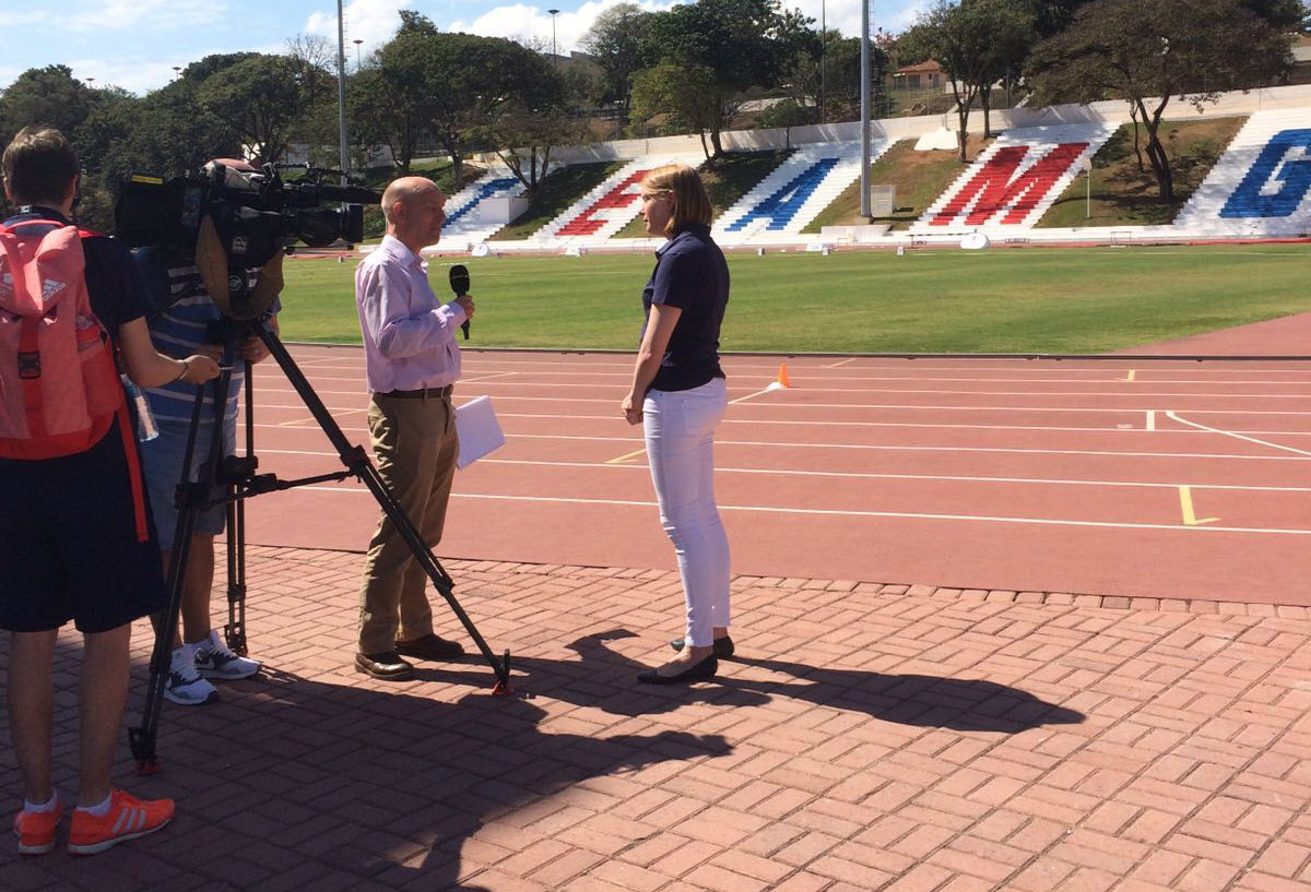 Tracey Crouch interviewed in Rio ahead of 2016 Olympic Games