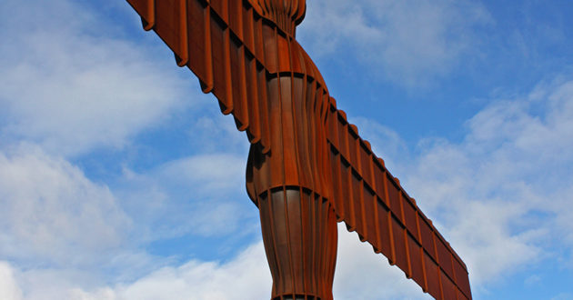 The Angel of the North, one of Tyne and Wear's most iconic sights