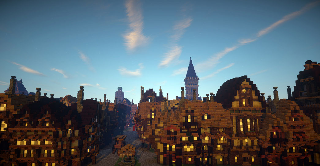 Minecraft - Great fire of London