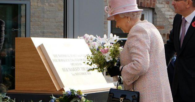 Her Majesty the Queen visits Matt Hancock's constituency