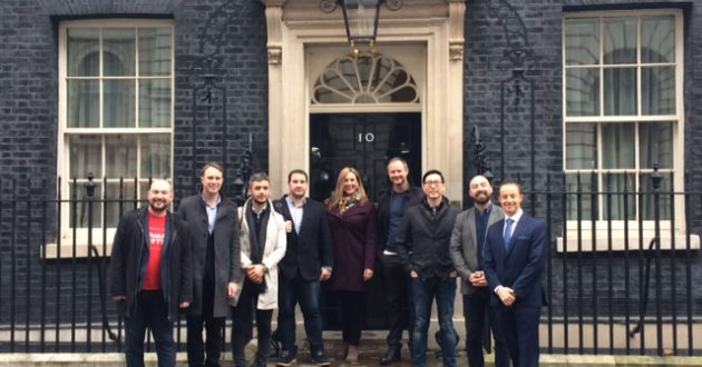 Tech North's Northern Stars at Downing Street