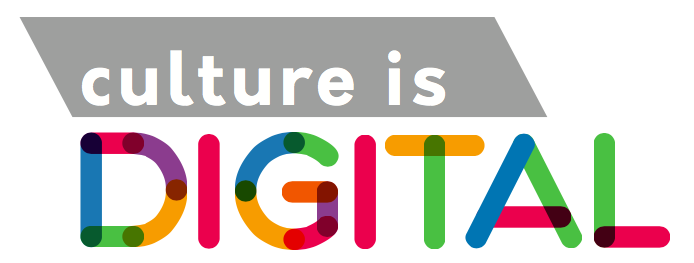 Culture is digital logo