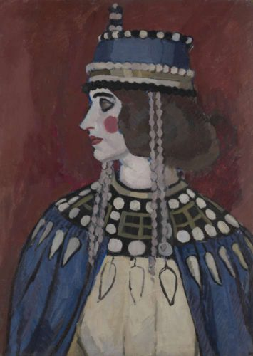 Vanessa Bell (1879–1961): Byzantine Lady 1912, oil on canvas © Estate of Vanessa Bell, courtesy Henrietta Garnett