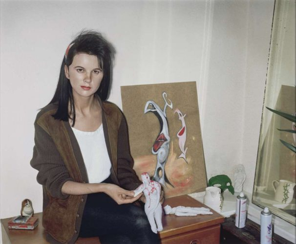 Gillian Wearing (born 1963): Me as an artist in 1984 2014, photograph © The Artist, courtesy of Maureen Paley, London