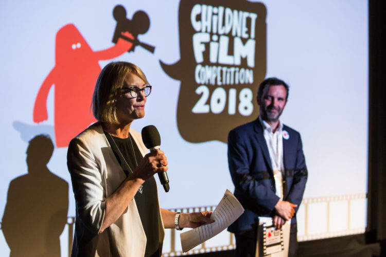 Margot James at Childnet Film Comp