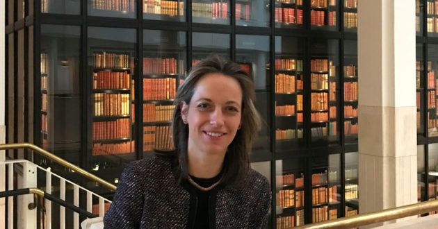 Helen Whately at the British Library