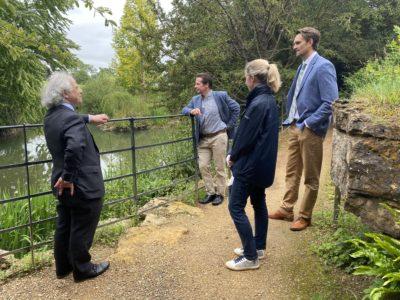 Tourism Minister visit