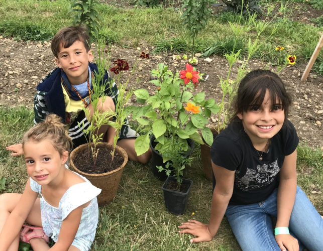 Wholehearted childhood, supporting wellbeing through nature - #CommunitiesCan