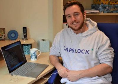 Capslock student