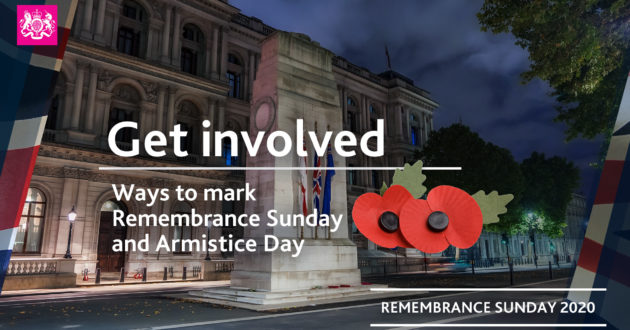 Remembrance Sunday and Armistice Day