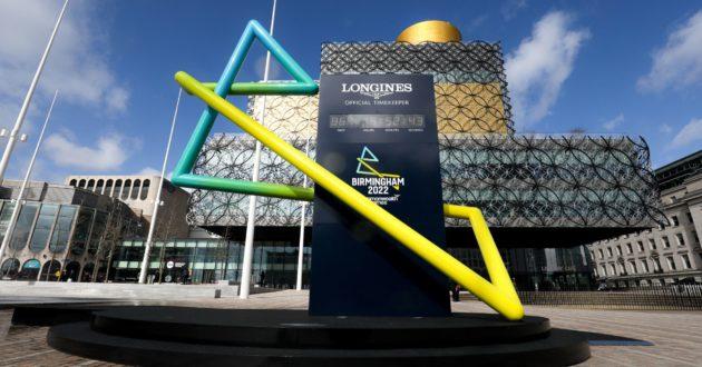 Birmingham 2022 clock