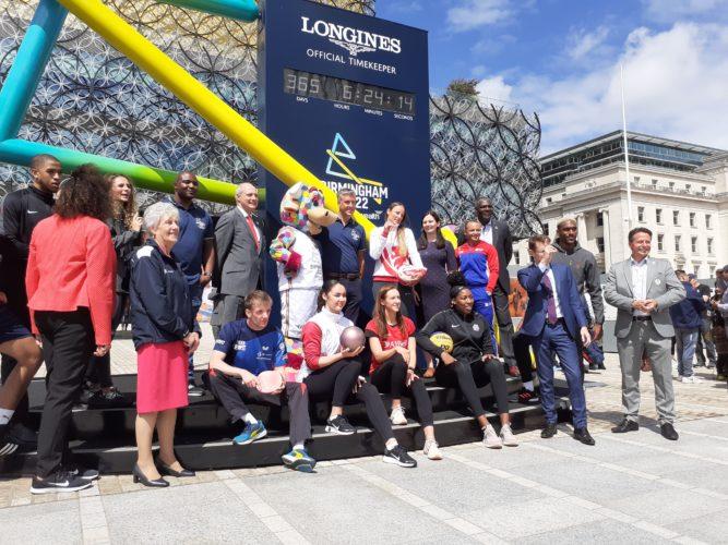 Birmingham 2022 one year to go event