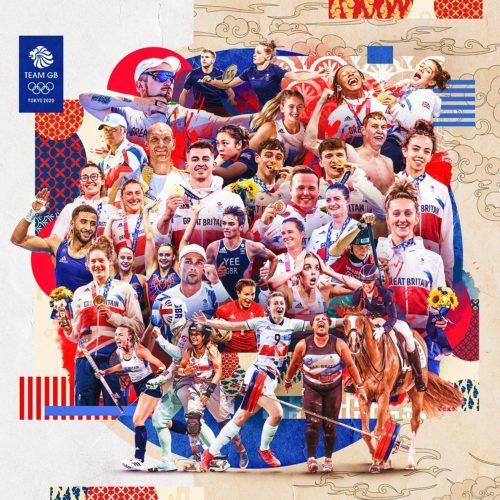 Team GB medal winners