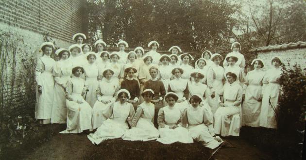 Edith Cavell  nurses at B