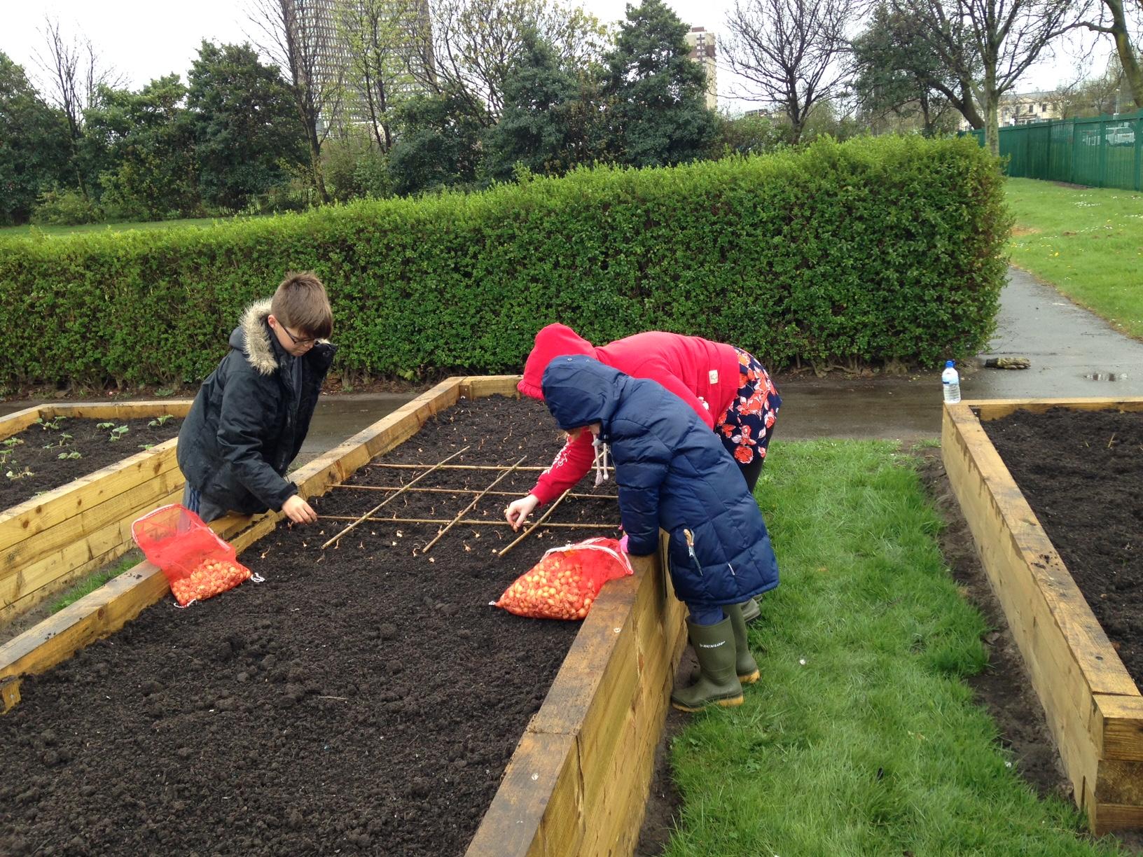 kids-planting
